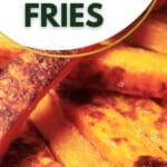 Steack of butternut squash fries
