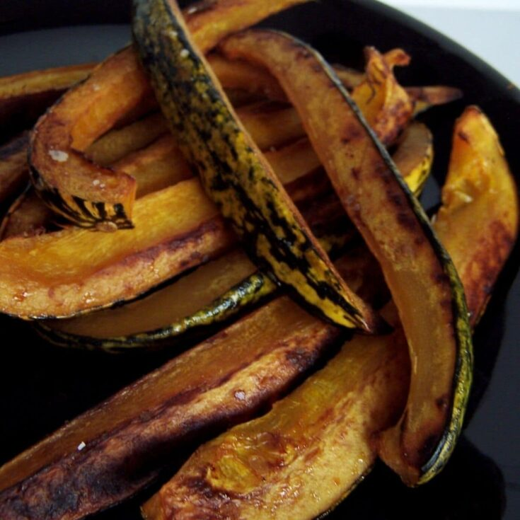Delicata squash fries