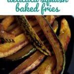 Delicata squash steak fries