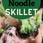 Turkey noodle skillet