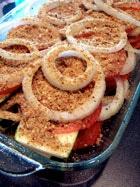 Summer Veggie Bake before