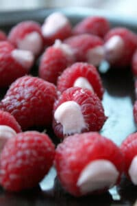 Simply Stuffed Raspberries