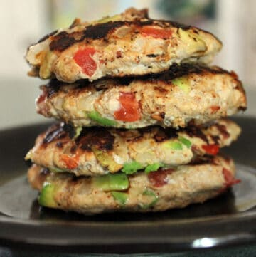 Guac-Turkey Burgers - Stacked