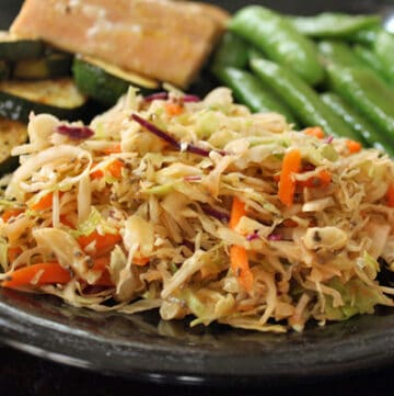Spicy Slaw at dinner