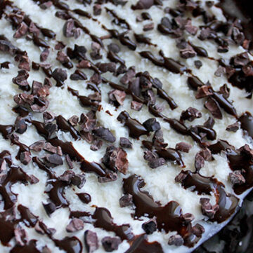 Greek Yogurt with Coconut and Cocoa Nibs