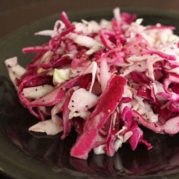 The Simplest Mayo-Less Coleslaw Ever!
