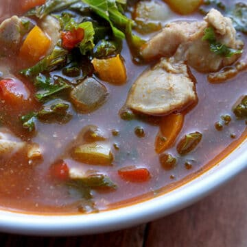 Pepper and Chicken Soup