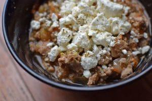 Turkey and Eggplant Stew