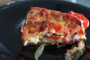Cheesy Zucchini Tomato Bake