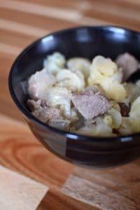 Cabbage, Ham and Potatoes Portrait