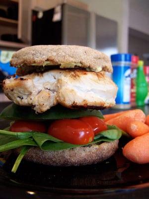 Guac Chicken Sandwich