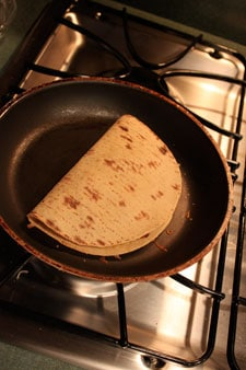 Leftover Turkey Quesadillas Panini Thing - step 2