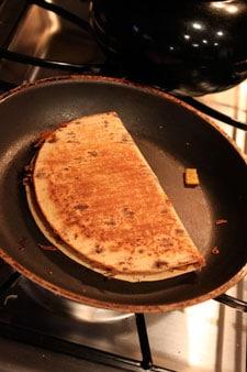 Leftover Turkey Quesadillas Panini Thing - step 4
