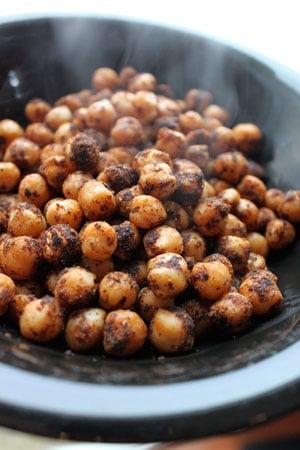Simply Spiced Chickpeas (aka Garbanzo beans)