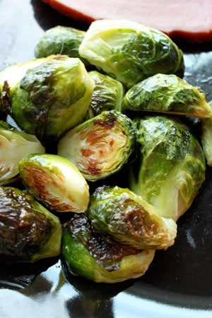 Simply Roasted Brussels Sprouts
