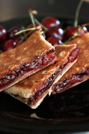 Grilled Chocolate and Cherries