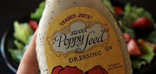 trader Joe's sweet poppy dressing