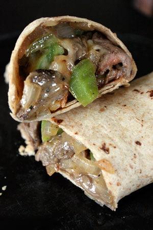 Cheesesteak Wraps