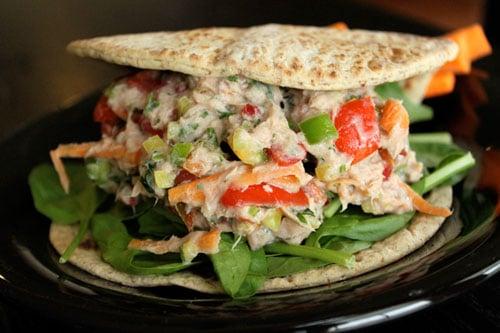 Spicy Garden Tuna Salad - finished