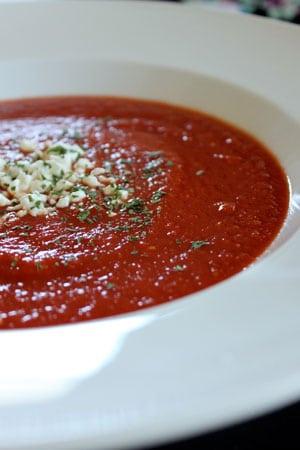 Homemade Garden Tomato Soup