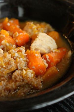 Butternut Squash Stew with Bulgur