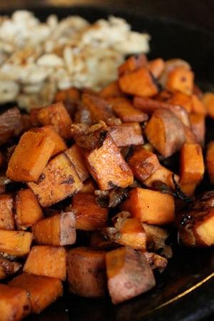 Simple Sweet Potato Hash