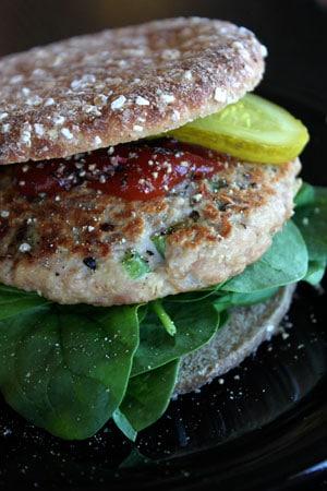 Simple Tuna Burgers