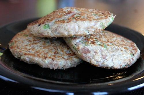 Simple Tuna Burgers - patties