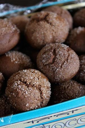 Molasses Cookie Balls