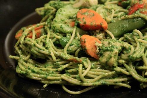 Spinach Arugula Pesto with Walnuts - step 5