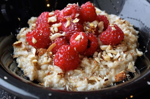 Raspberry Almond Oatmeal 2