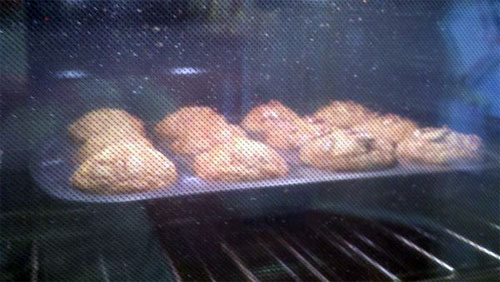 """The """"I Almost Nailed Them"""" Roasted Butternut Squash Muffin - baking"""