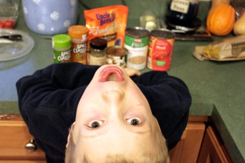 Pantry Rice - little man