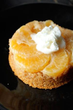 "Single-Serve Vegan Clementine ""Cake"""