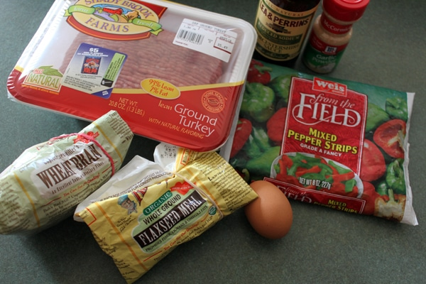 Ingredients for Turkey Burgers