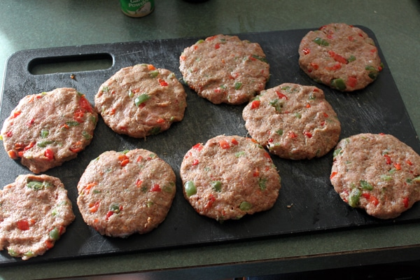 Turkey Burger Patties