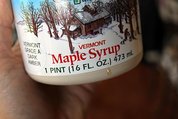 Ingredients for Custardy Pumpkin Maple Smoothie