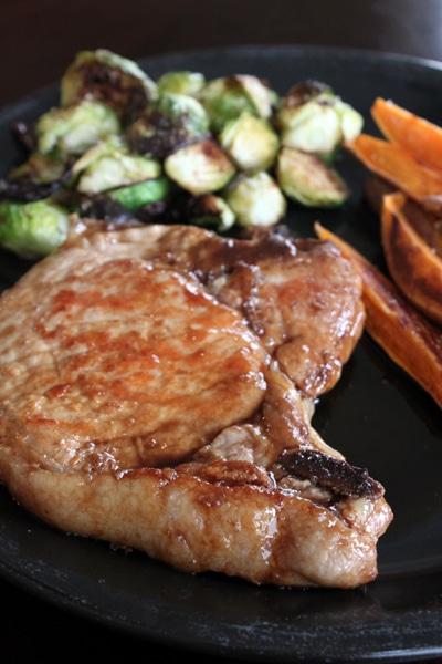 Simple Maple Pork Chops