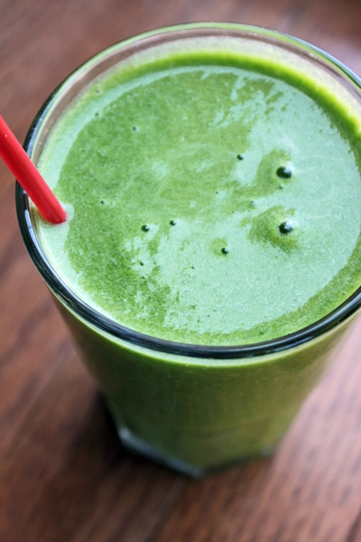 Simple Pineapple Green Smoothie