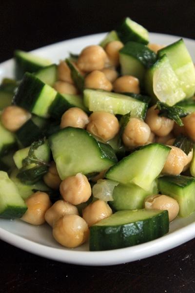Chickpea Salad Mojito Style