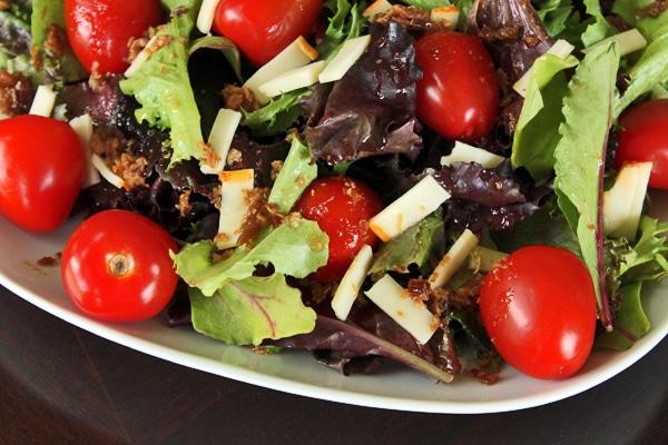 BLT Salad Close Up