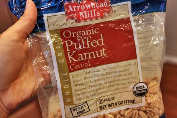 Puffed Kamut
