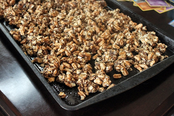 Homemade Granola before