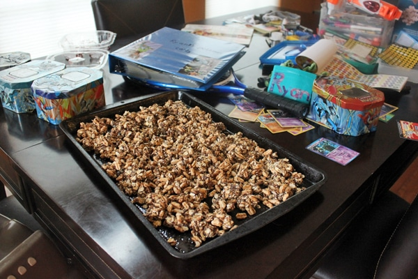 Behind the scenes of homemade granola
