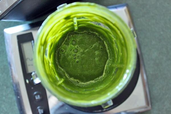 Green Watermelon Avocado Smoothie puree