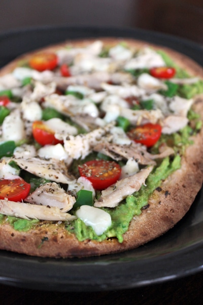 Avocado Chicken Pizza