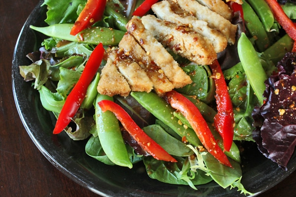 Salad with  Spicy Thai Dressing