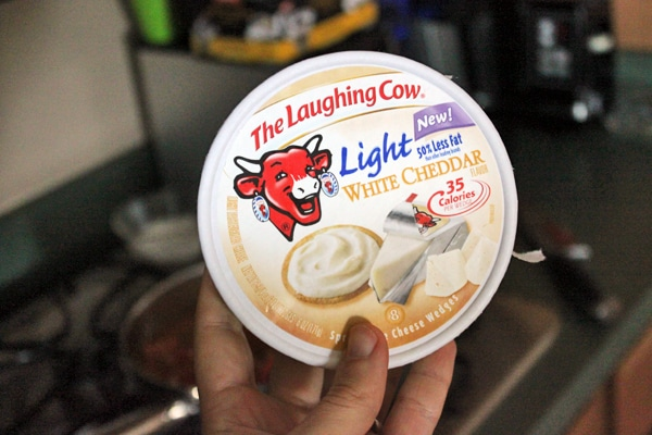 The Laughing Cow White Cheddar