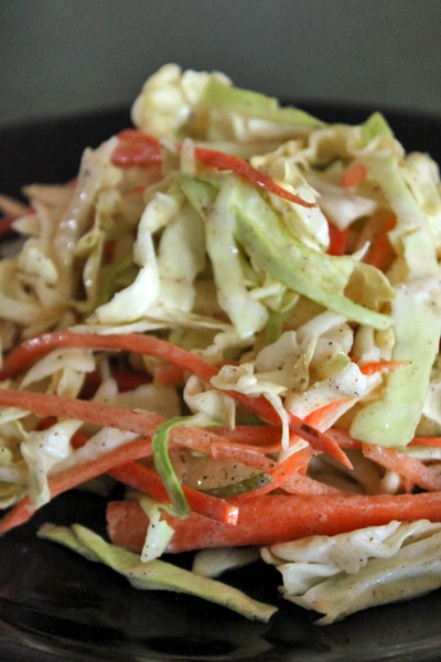 Fall Slaw with Asian Pears and Almonds
