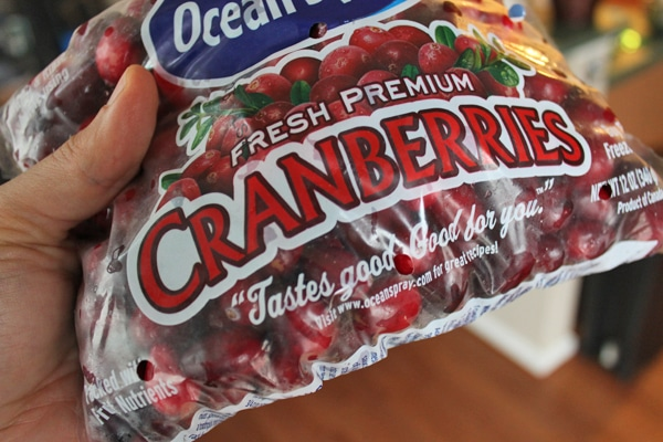Bag of Cranberries